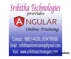 Angular Online Training From India