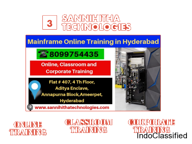mainframes course fees in hyderabad