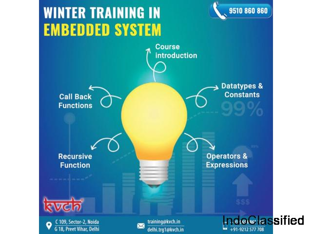Live Project Based Embedded System Summer Training Course in Noida