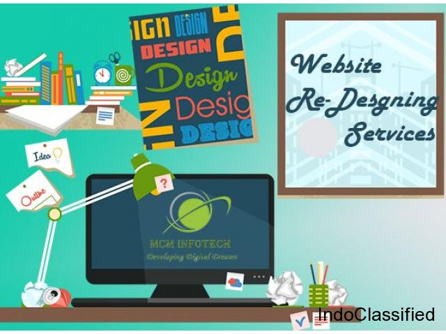 Top 10 Redesigning Website Services Company MCM Infotech