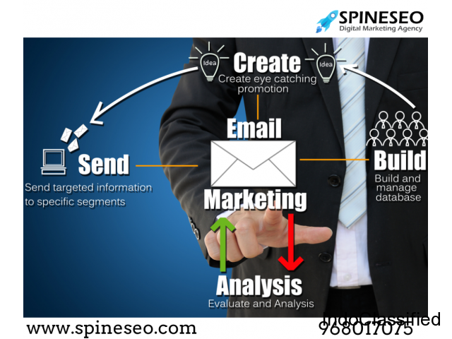 E-Mail Marketing Services In Udaipur|SpineSEO|