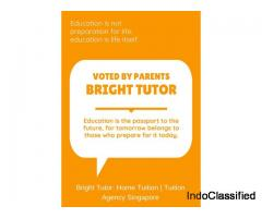 Bright Tutor – Private Home Tuition & Home Tutor in Singapore
