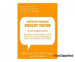 Bright Tutor – Private Home Tuition & Home Tutor in Singapore