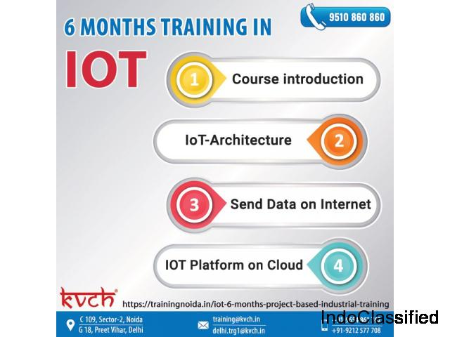 Six weeks IOT Summer Industrial Training Center in Noida