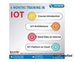 Six weeks IOT Summer Industrial Training Center in Noida