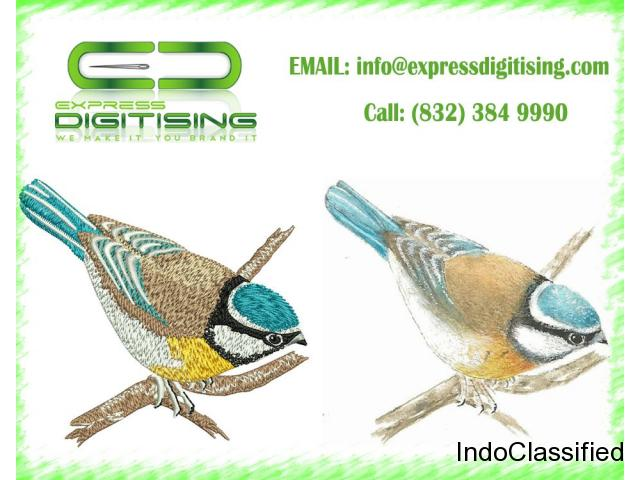 $15 Pro Embroidery Digitizing | Get Your Logo Done Quickly