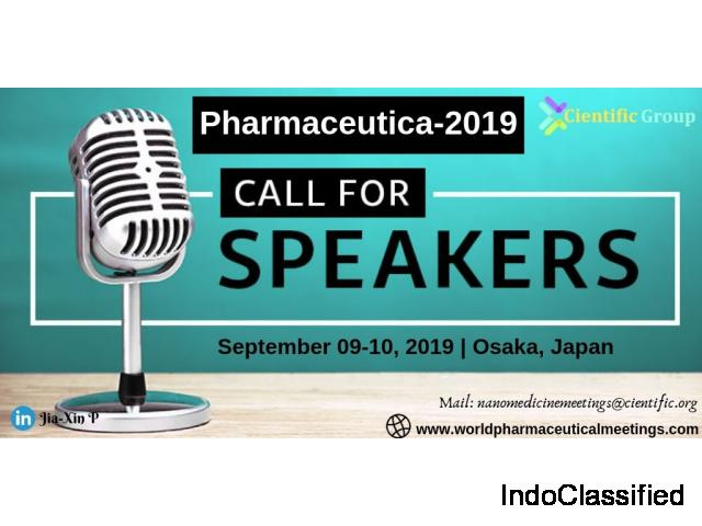 Call for Speakers to Pharmaceutica-2019 | Cientific Group