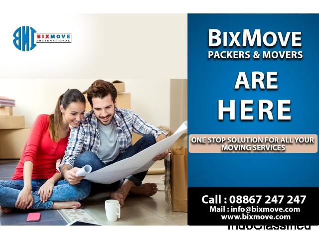 Packers and Movers in Bangalore, Chennai | Bixmove