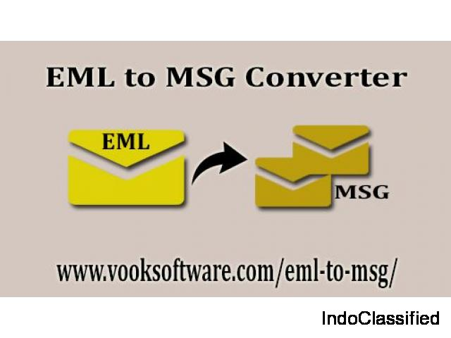 Batch Conversion with EML to MSG Converter Tool