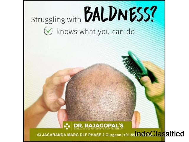 Hair Transplant in Gurgaon Rs 40000 | Dr. RajaGopal's Clinic.