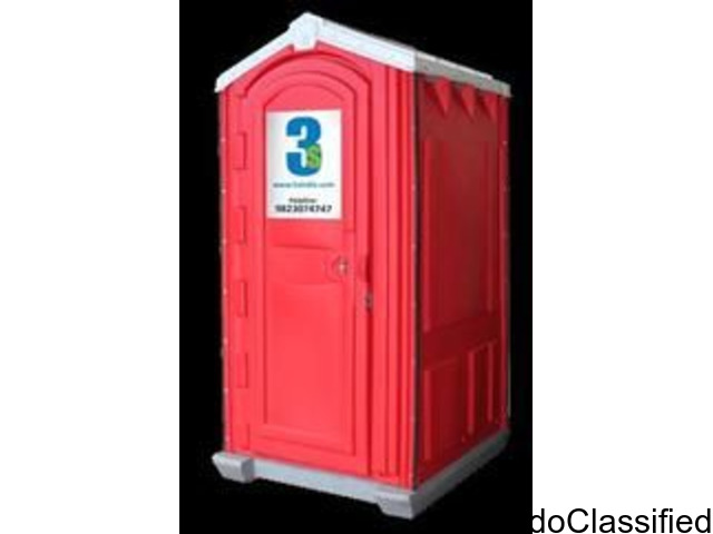 3sindia  offer largest selection of portable and mobile toilet on rent.