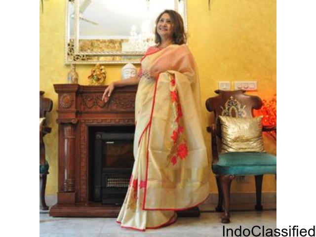 Best bespoke and handloom sarees in gurgaon ncr