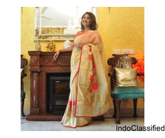 Best bespoke and handloom sarees in gurgaon ncr