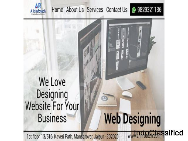 Best Website Development, Web Designing Company In Jaipur | AR Infotech