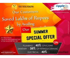 Do you Know , Many  Customers Saved Lakhs of Rupees   by Availing our Summer Special Offer