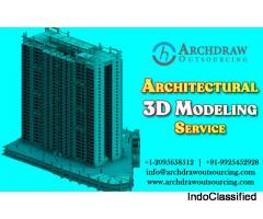 Architectural 3D Modeling Services | 3D Architectural Rendering - Archdraw Outsourcing