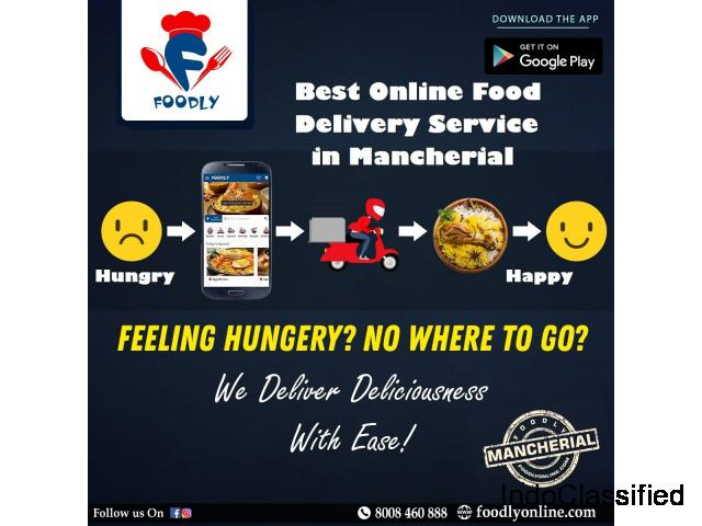 Foodly restro - Eat Better, Feel Better, Online Food Delivery App In Mancherial