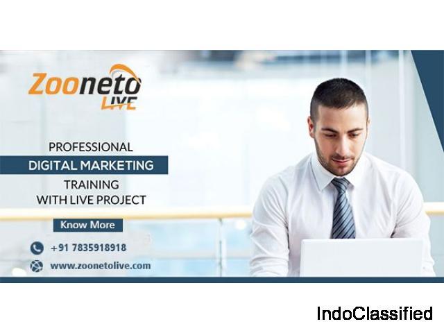 Digital Marketing Training in Noida With Zooneto Live?