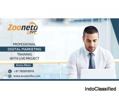 Digital Marketing Training in Noida With Zooneto Live?