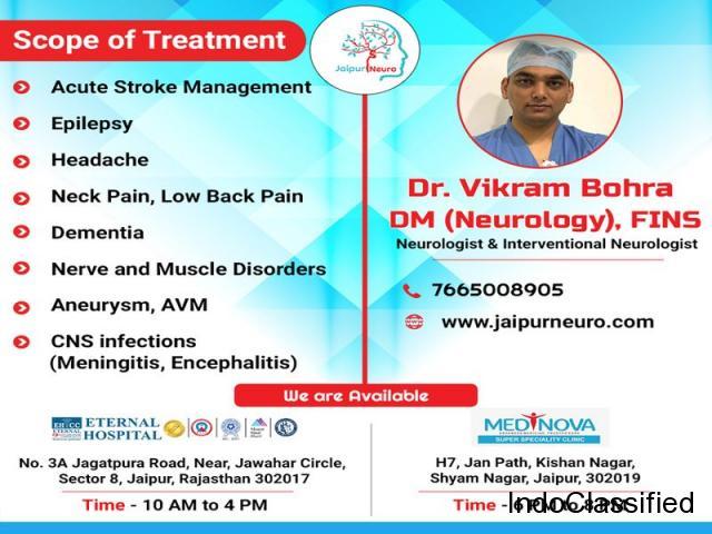 Best neurologist in Jaipur for neurological disorders treatment.