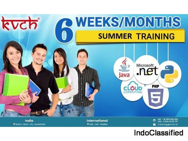 KVCH Announces summer training institute jaipur for a Better future