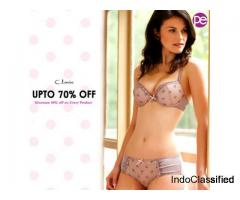Cotton Non-Wired Non-Padded Polka Print Bra ₹399