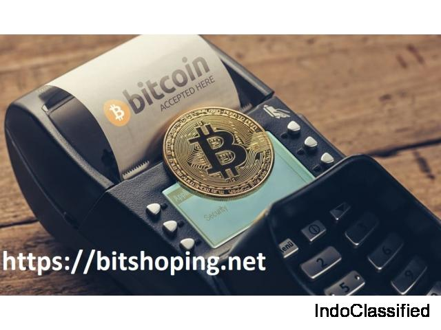 American Luxury Shopping with Bitcoin Marketplace