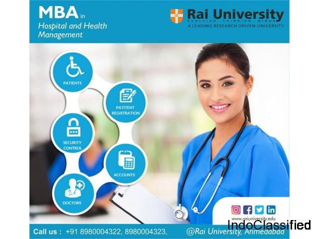 MBA in Health Management in Ahmedabad