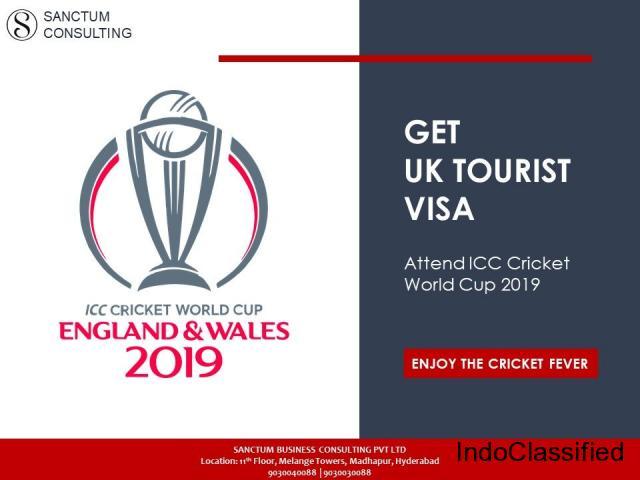 Enjoy ICC Cricket World Cup 2019 – Get UK Visa Through Sanctum
