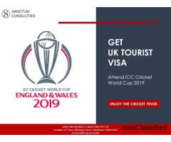 Enjoy ICC Cricket World Cup 2019 – Get UK Visa Through Sanctum