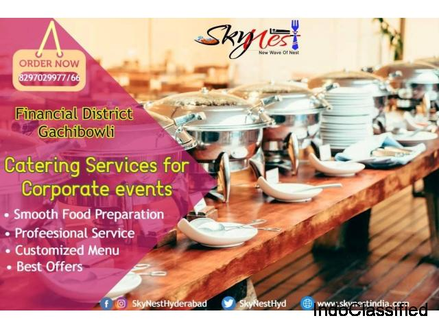 Corporate Lunch Services In Gachibowli   Skynest Restaurant