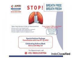 AMRI Hospitals Dhakuria - Special Asthma Package Kolkata
