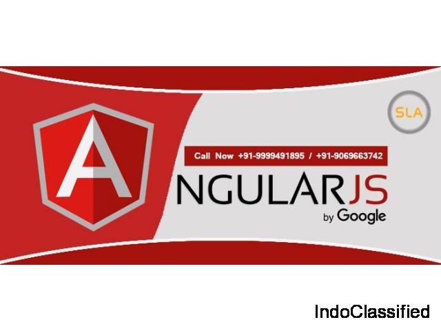 Best Angularjs Training Course Provider Institute in Delhi - SLA Consultants India