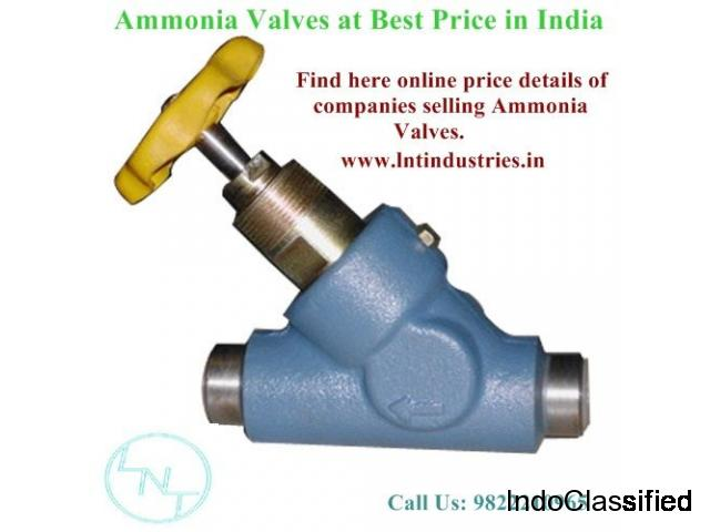 Ammonia Valves & Fittings Manufacturers, Suppliers, Exporters in India