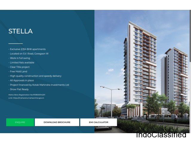 A premium life awaiting at Chandak Group in Goregaon