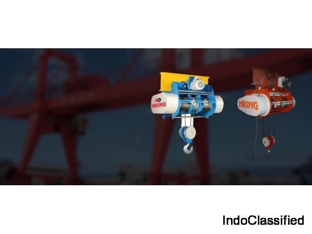 Hoists | Crane Manufacturer |Supplier |Exporters in Ahmedabad | Gujarat | India |Hiking Engineers