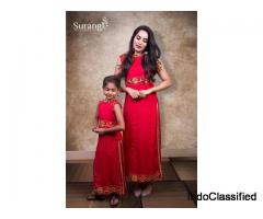 Surangi designerz - Best boutique in Chennai | mom and baby dress
