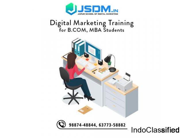 JSDM Digital marketing Training Institute in Jaipur for MBA Students
