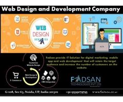 best web design and development company in noida