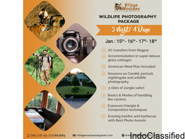 Photography Workshop at Pench National Park