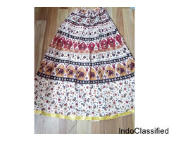 Online Wraparound Jaipuri Skirt Wholesale Market Chennai