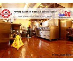 We provide IguanaGrip Anti slip safety solutions for flooring.