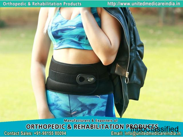 Knee wraps belts and braces Manufacturers & Exporters in India