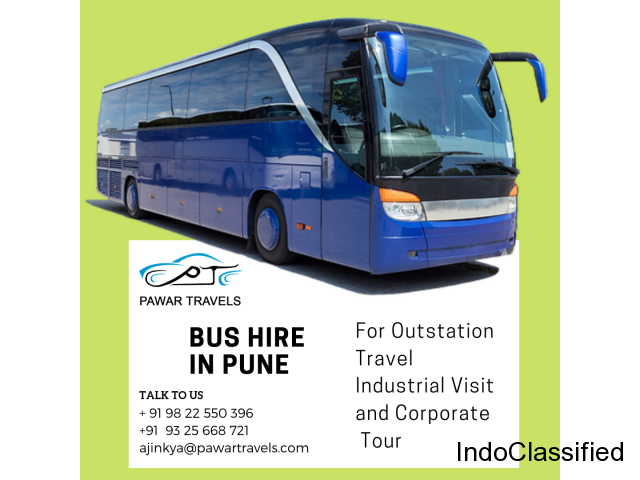 Bus Hire in Pune Starts From Rs.5400 | Pawar Travels