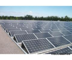 Solar Power Structure- Solar Module Mounting Structure