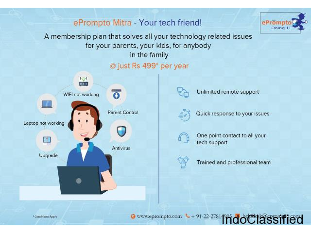 Get Prompt Help for Tech Issue | Mitra Your Tech Friend | ePrompto