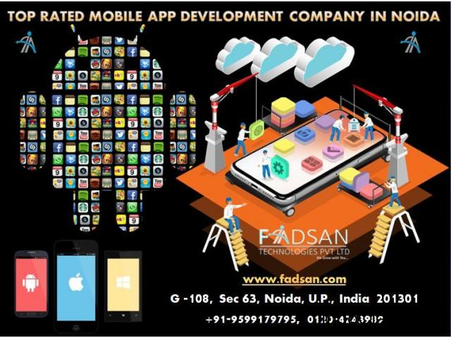 Top Rated Mobile App Development Company in Noida