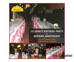 Choose the Right banquet hall in Christchurch