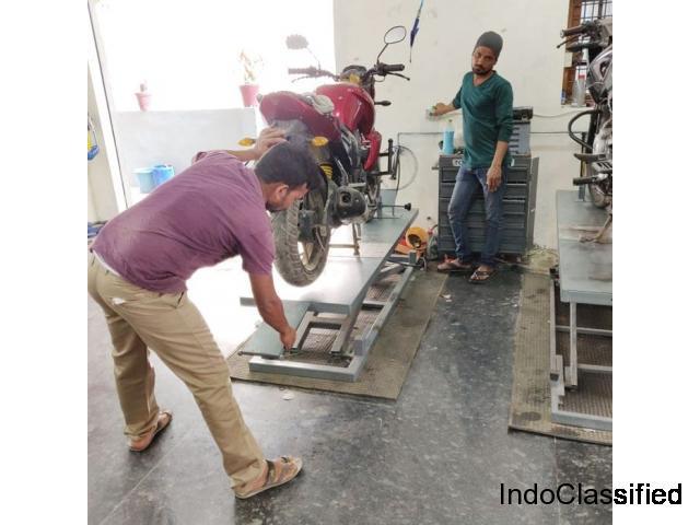 Bike Service  and Two Wheeler Repair Near Kondapur