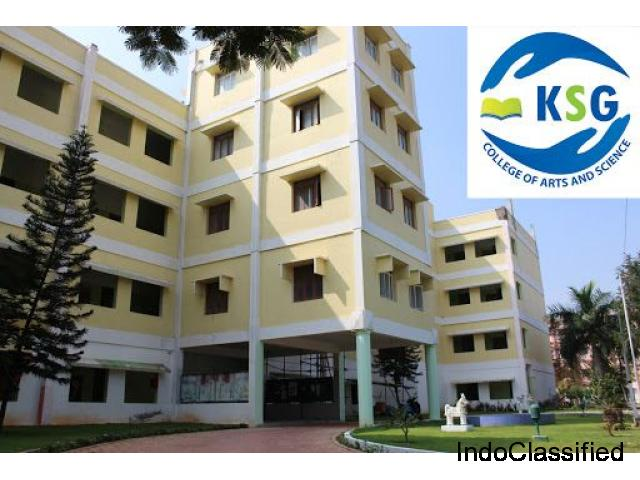 Start Your Life With KSG College of Arts And Science